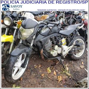 Lote do leilão Leilão da Policia Judiciaria de Registro-SP I - MOTOS