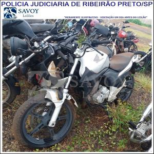Lote do leilão Leilão da Policia Judiciaria de Ribeirão Preto-SP - Motos